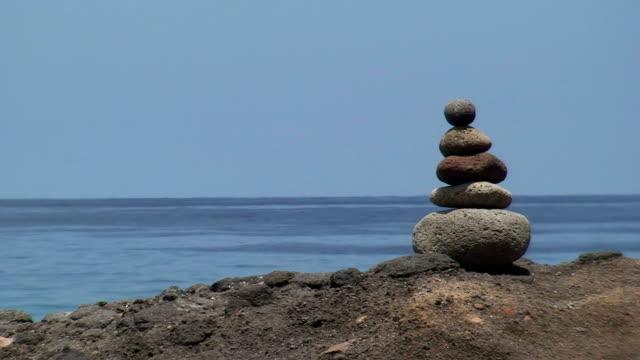 Rock Stack: Meditation video