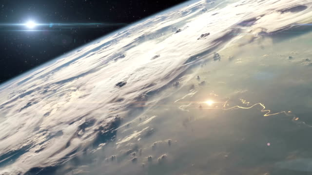 Rocket Launching Into Space video