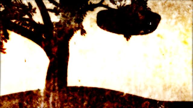 Rocking on the swing Dondolo sull'altalena della mia malinconia video
