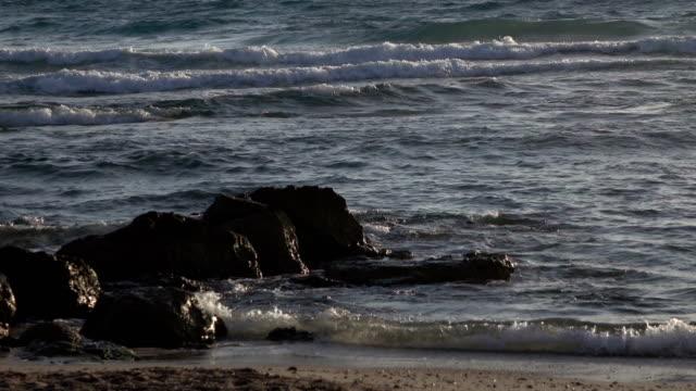 Rocky Beach at Sunset video