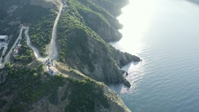 klippor i havet. - egeiska havet bildbanksvideor och videomaterial från bakom kulisserna