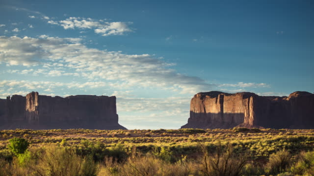 Rocky Gateway in Monument Valley - Time Lapse