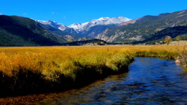 klippiga bergen, colorado - klippiga bergen bildbanksvideor och videomaterial från bakom kulisserna