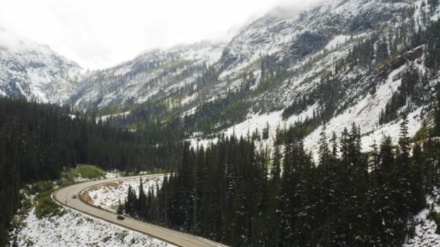 Rocky mountains in Washington State