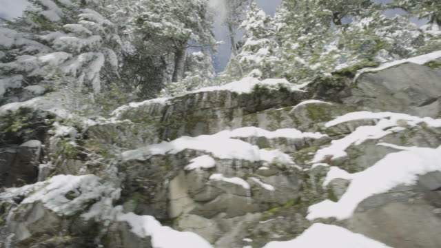 Rocky Pass in the Winter