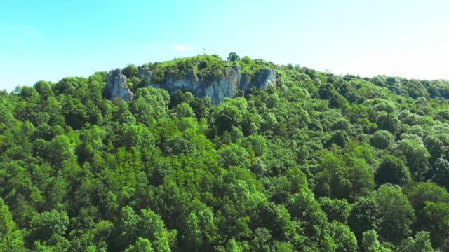 Rodenstein Butte In Walberla Mountain Range In Franconia video
