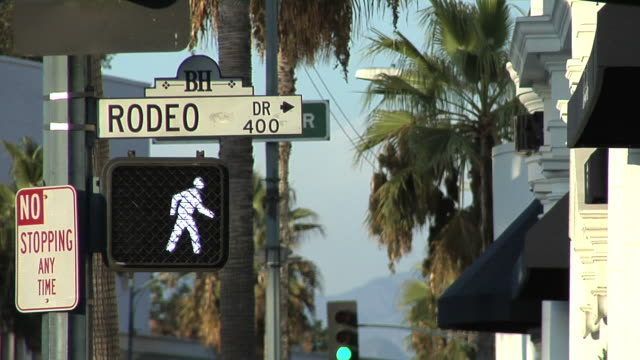 Rodeo Drive, Beverly Hills, California video