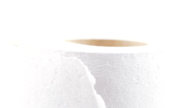 Roll of toilet paper video