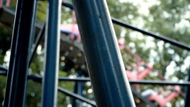 Roller coaster ride video