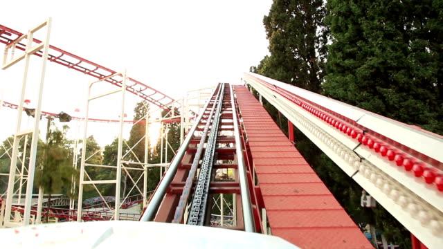 roller coaster video