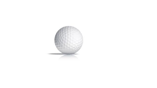 Rolling Golf Ball video