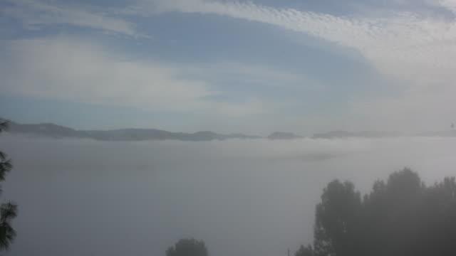 Rolling Lake Fog - Time Lapse video
