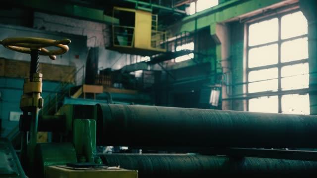 大型プラントビデオでローリングマシン部品 ビデオ