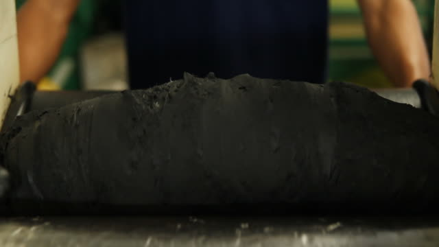 Rolling the material video