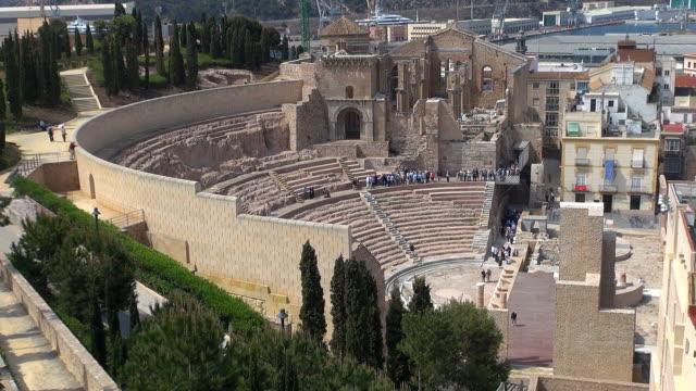 Roman Amphitheatre - Cartagena, Spain video