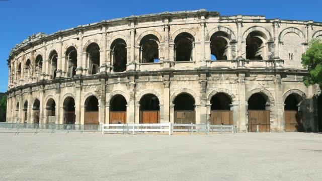 Roman arenas. Nimes