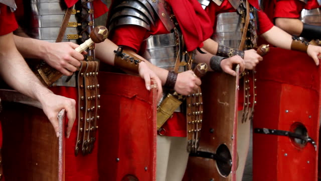 HD Roman Army - detail video