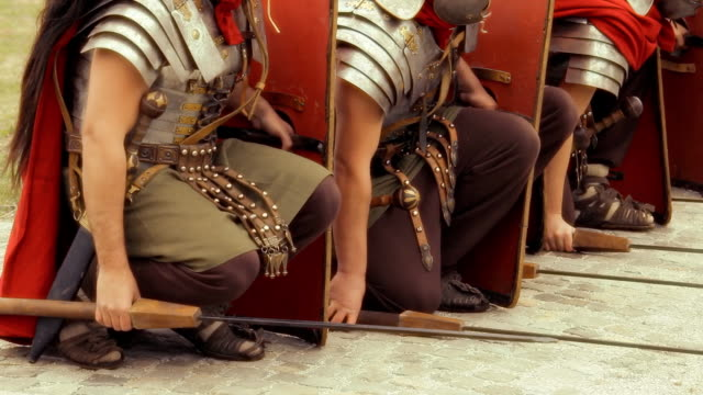 HD Roman Army video