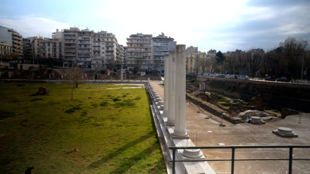 Roman Forum in Thessaloniki video
