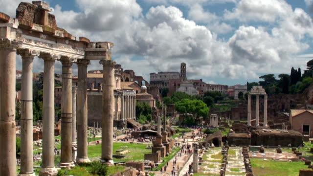 Roman Forum - Rome, Italy video
