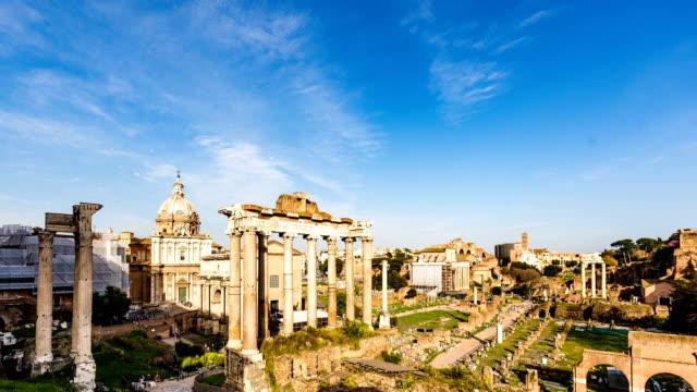 Roman Forum time lapse video