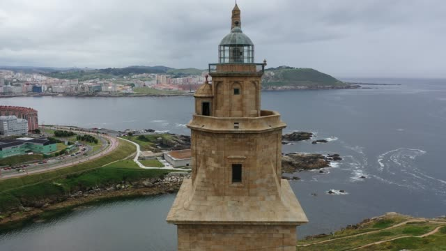 Roman lighthouse in use today, La Coruna