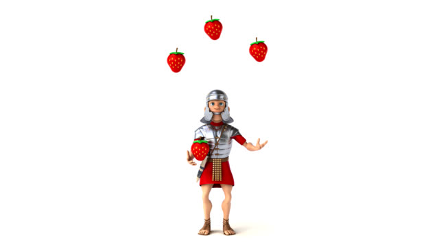 Roman soldier - 3D Animation video