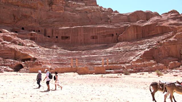Roman Theatre - Petra, Jordan video
