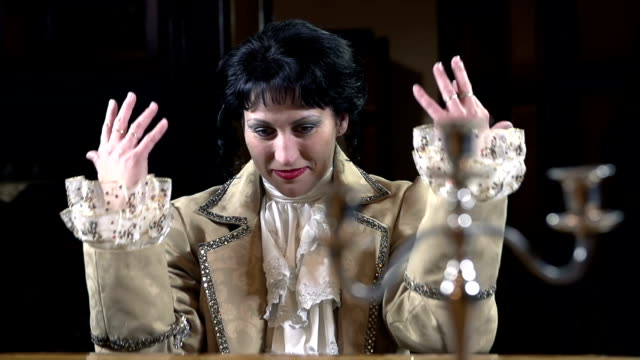 HD-SLOW: Romanesque garment gestures with hands as good piano player video