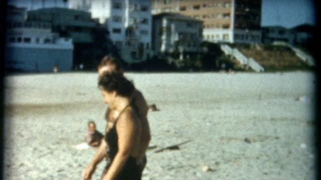 Romantic Couple Santa Monica 1950's video