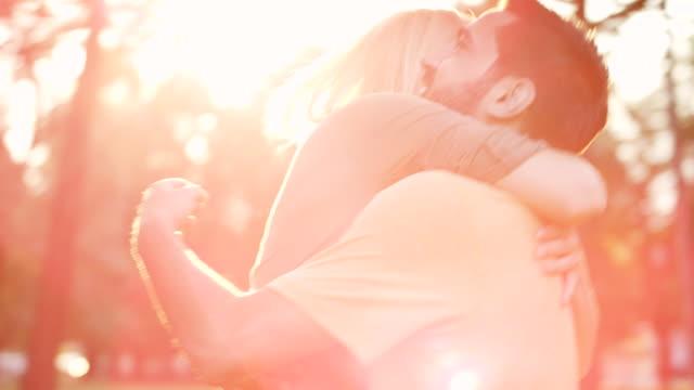 Romantic couple video