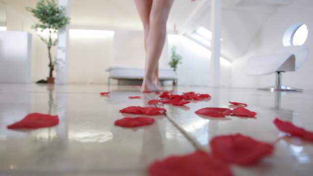 vídeos de stock e filmes b-roll de decoração romântico - mosaicos flores