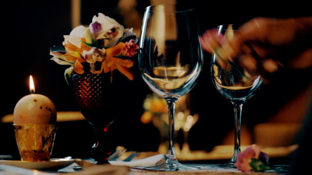 Romantic Dinner Table, Restaurant, Valentines Day video