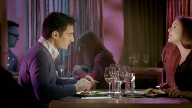 HD DOLLY: Romantic Fine Dining video