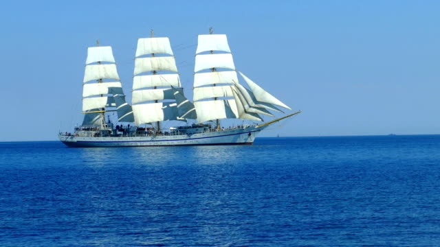 romantic journey on an old Tall ship video