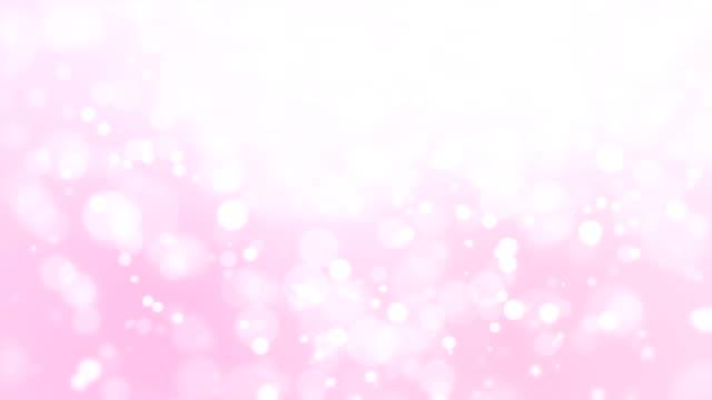 背景のロマンチックな光のピンクのボケ味 - ピンク色点の映像素材/bロール