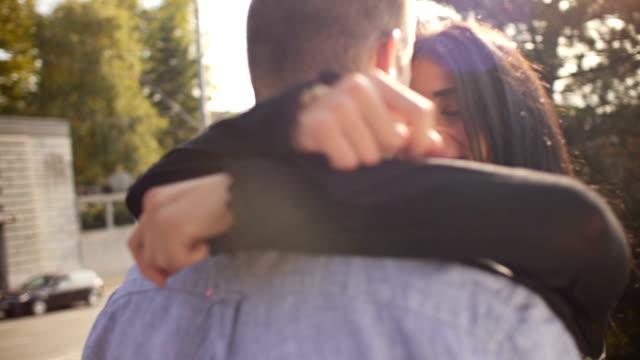 Romantic proposing video