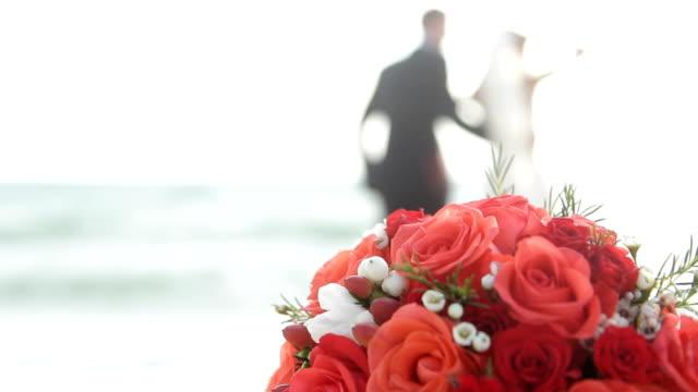 Romantic scene from the sea video