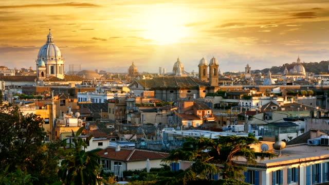 rom i solnedgången - peter the apostle bildbanksvideor och videomaterial från bakom kulisserna