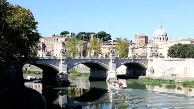 Rome city view video