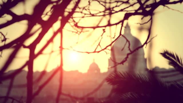 Rome Dome from Pincio Hill video