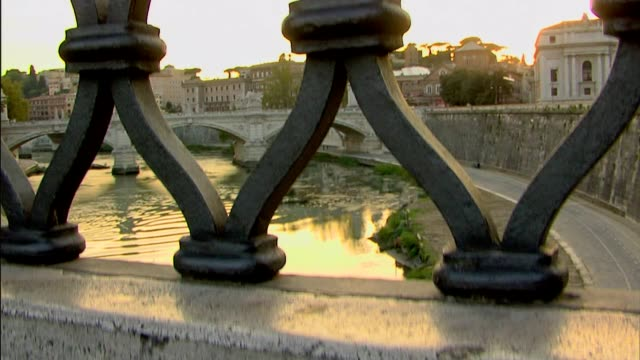 Rome, Italy: Tiber river. video