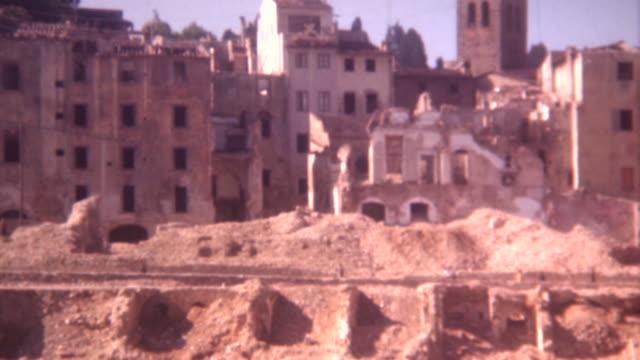 Rome War Damage 1944 video
