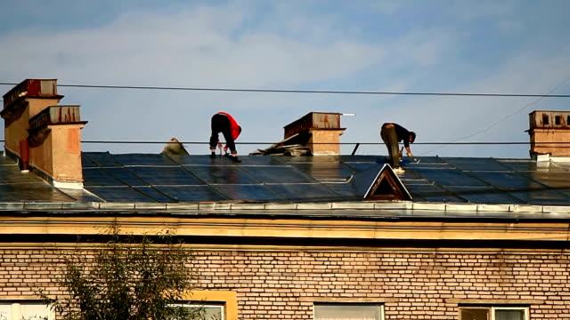 Roof repairs video