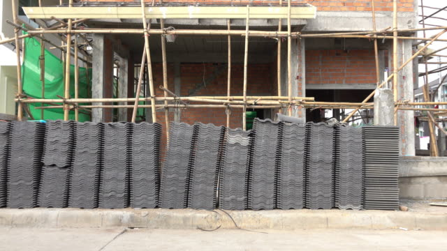 roof tile in construction house