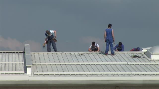 HD: Roof Work video