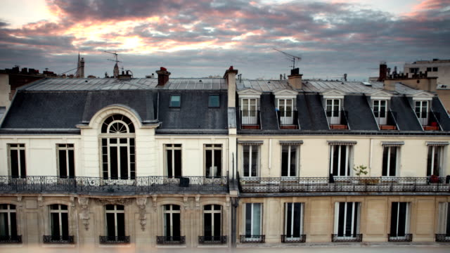 Rooftop Cloud Time Lapse in Paris 8th video
