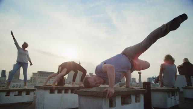 Spaß auf dem Dach – Video