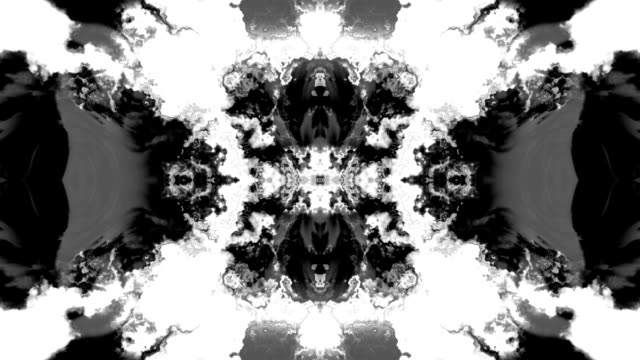 Rorschach Ink Bleed Animations video