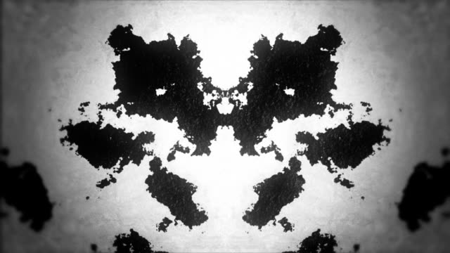 Rorschach Test in a Retro Style video